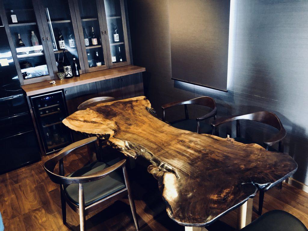 クラロウォールナット テーブル