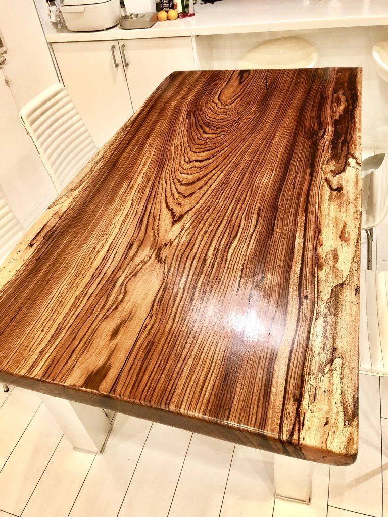ゼブラウッド テーブル