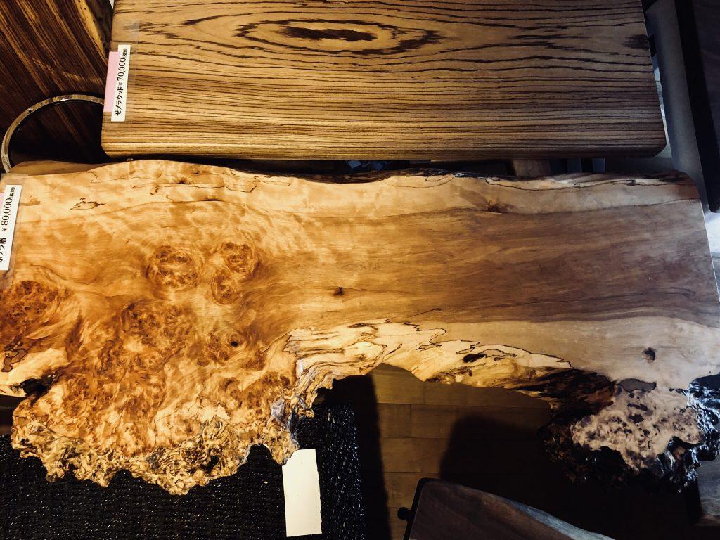 ポプラ瘤 テーブル
